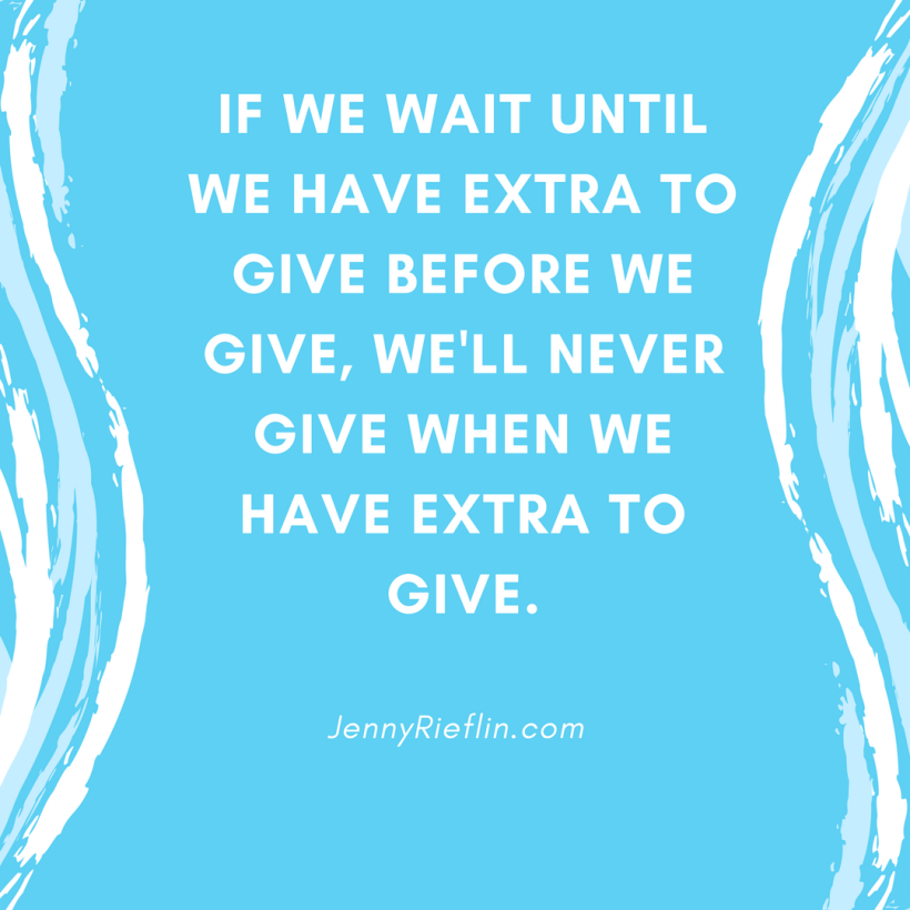 Live to give