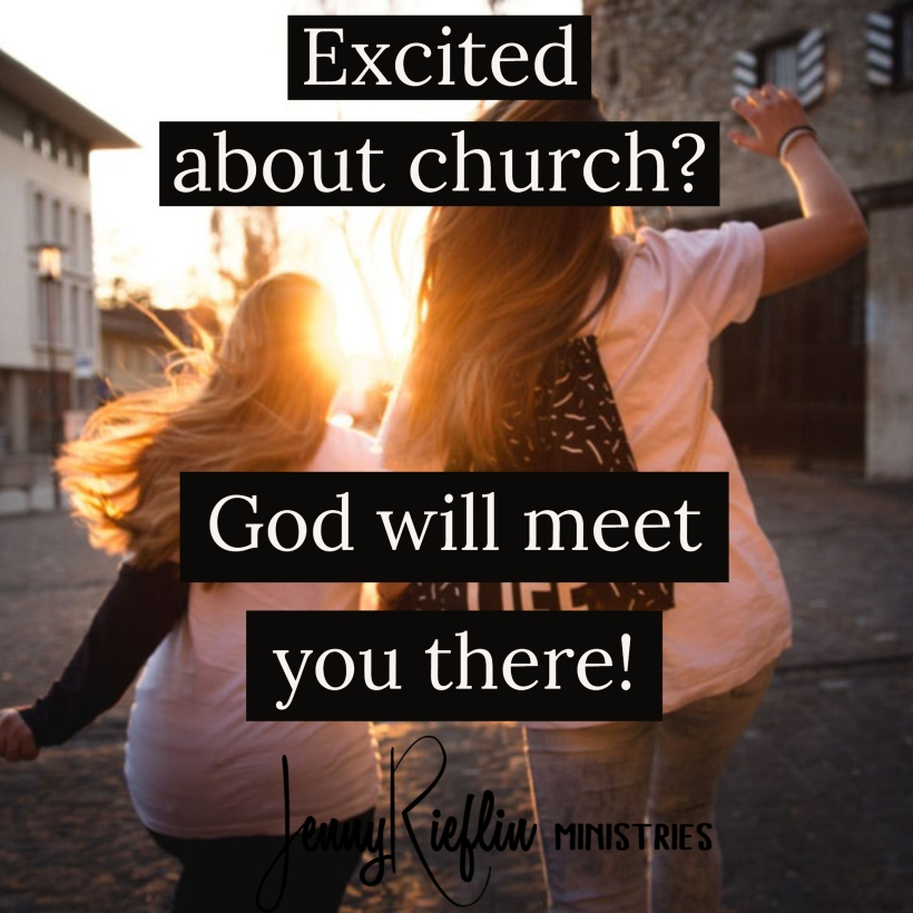 Excited about church_