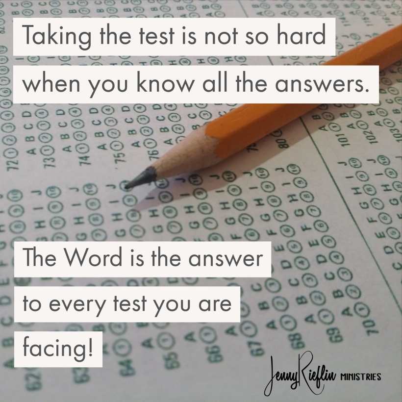 tests are not hard when you know the answers