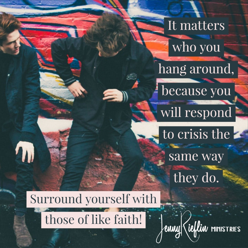 It matters who you hang around