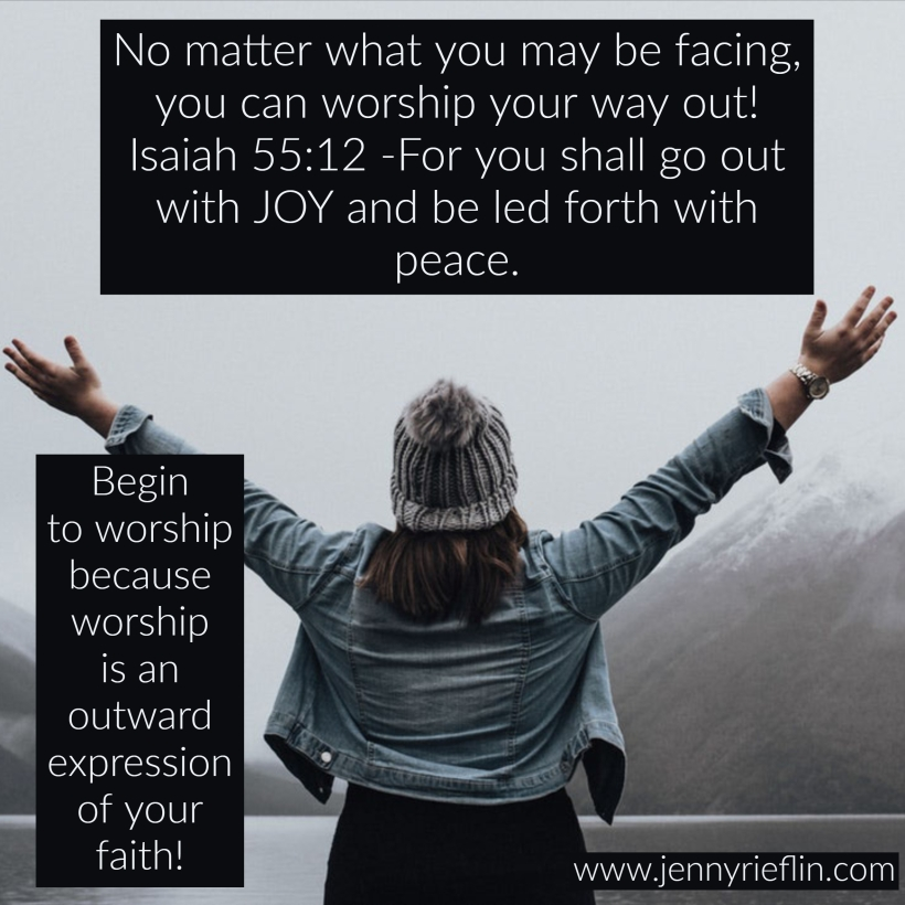 worship your way out