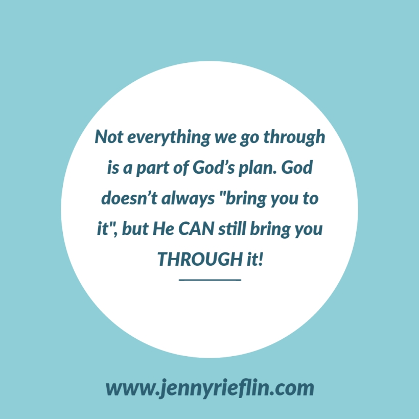 God can Bring You Through It